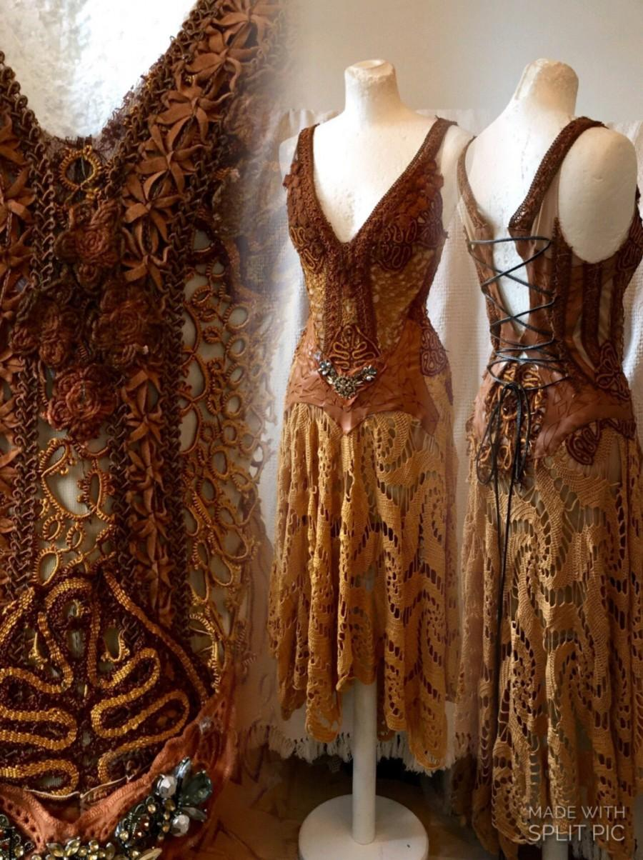 504a8716e6b Boho Burnt Orange Dress