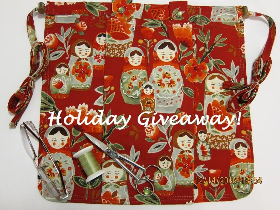 Mariage - HOLIDAY GIVEAWAY - Not for Sale! Mark this Nesting Doll Caddie as a Favorite to enter our 1/1/2017 Drawing!