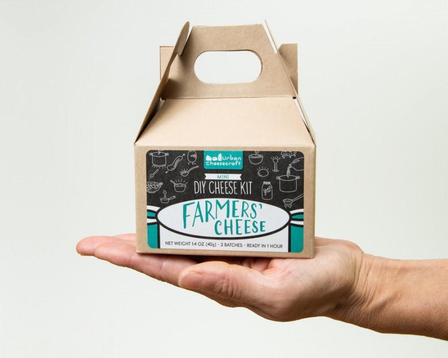 Mariage - Mini DIY Farmers' Cheese Kit- 3-5 batches (cow milk)