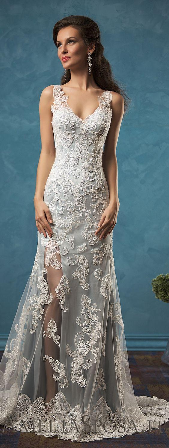 Top designer wedding dresses 2017 photo