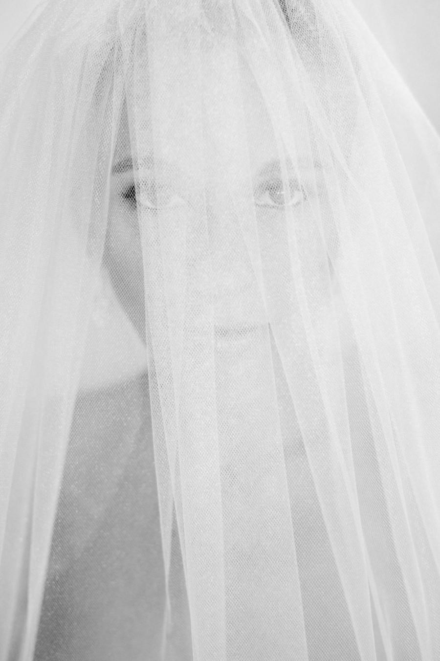 "Mariage - Handmade Custom Veils:  ""The Courtney"""