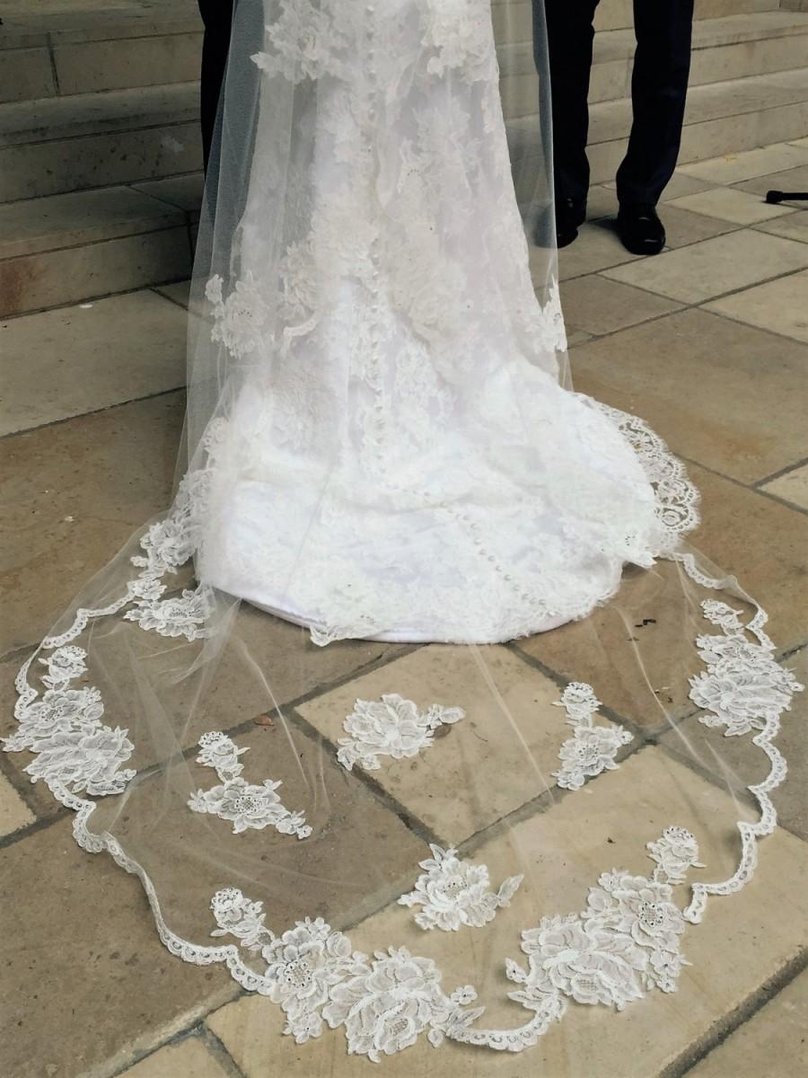 "Hochzeit - Handmade Custom Veils: ""The JoJo"""