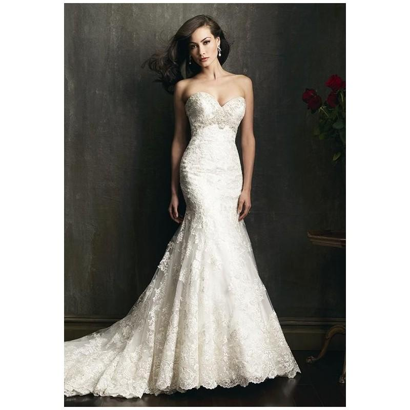 Allure bridals 9051 wedding dress the knot formal for Wedding dresses the knot