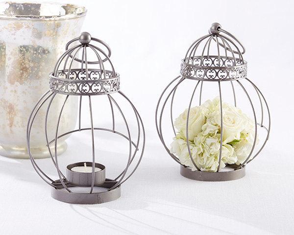 Свадьба - 24 -  Vintage Bird Cage Lantern