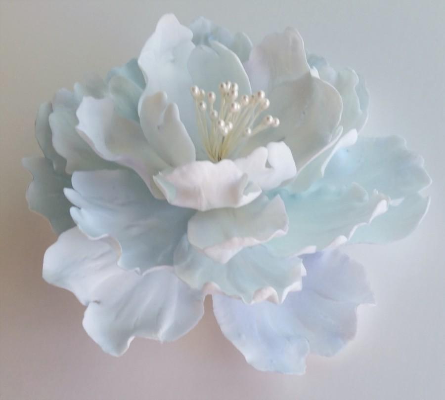 """Hochzeit - Fantasy Peony Gum Paste Flower approx. 5"""" in diameter"""