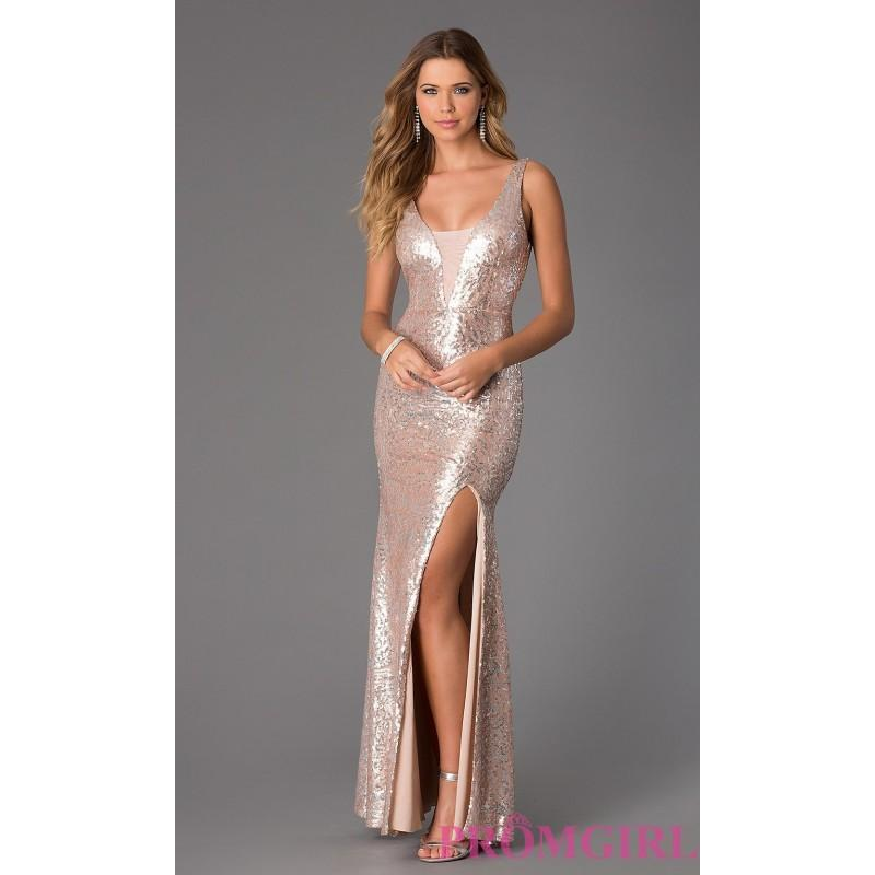 Свадьба - Sleeveless Floor Length Sequin Dress by City Triangles - Discount Evening Dresses