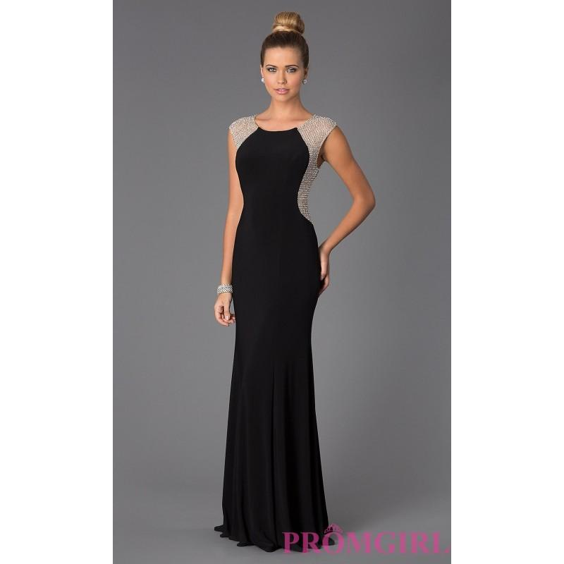 Long Black Xscape Gown For Prom - Discount Evening Dresses #2629832 ...