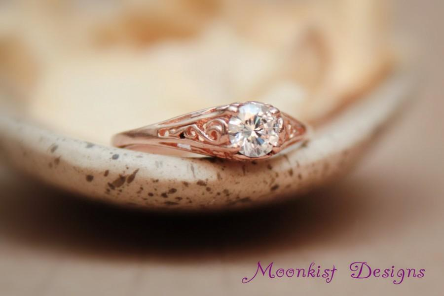 Silver Engagement Rings With Diamond
