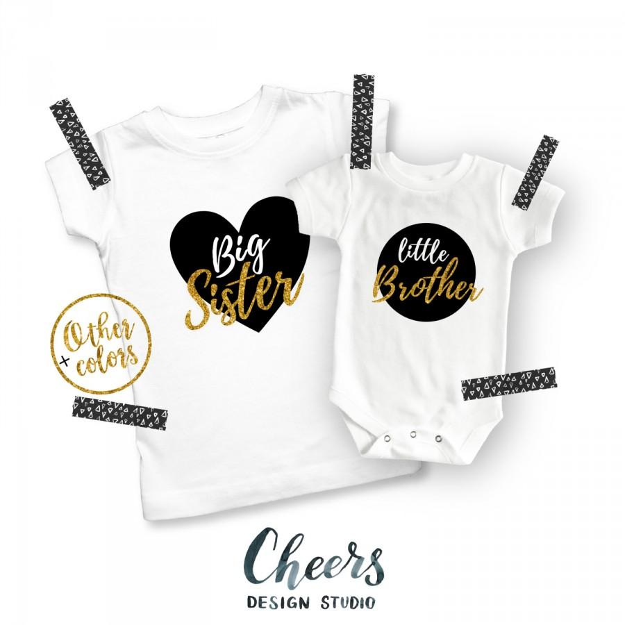 23a2e6fd3 Big Sister Little Brother, Sibling Shirts, Big Sister Shirt, Little Brother  Shirt, Big Brother Shirt, Kids' Clothing, Little Brother, Sister