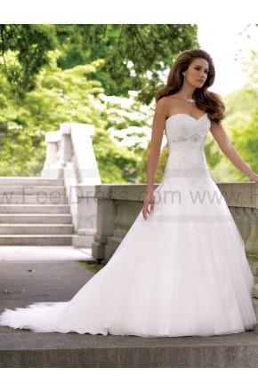 Hochzeit - David Tutera For Mon Cheri 113231-Goldie Wedding Dress