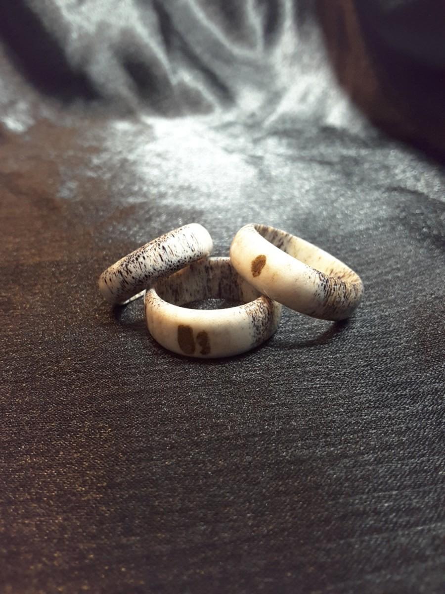 Mariage - Elk Antler Ring