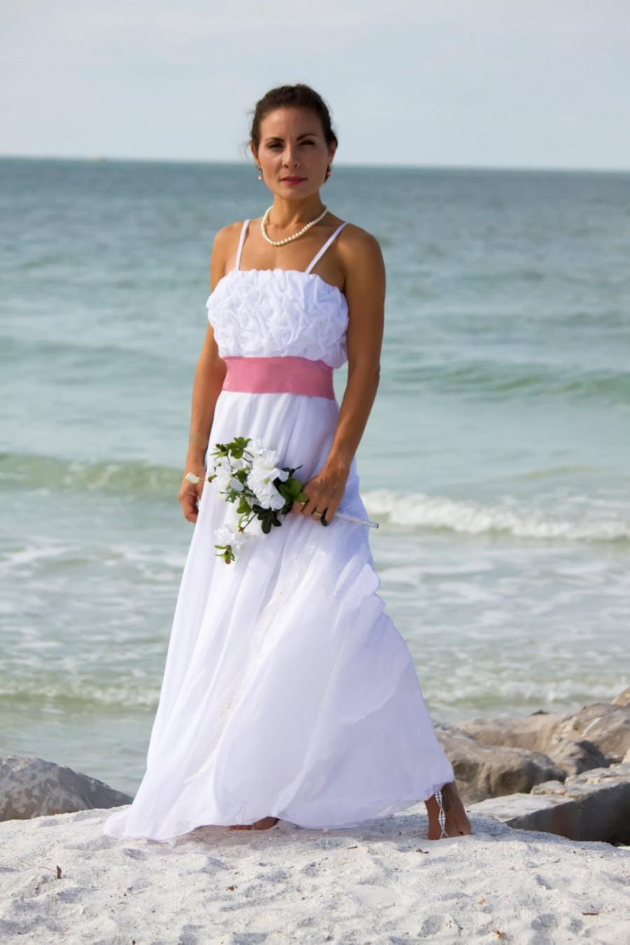 Hochzeit - chiffon full circle skirt ballgown tucked bodice with Swarovski crystals