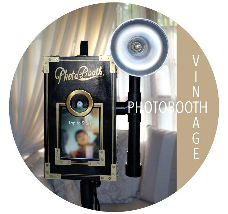 Wedding - Vintage IPad Mini Photo Booth