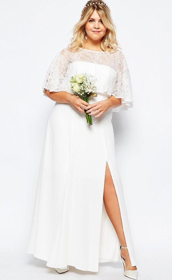 Hochzeit - 12 Gorgeous Plus-size Wedding Dresses —all Under $500