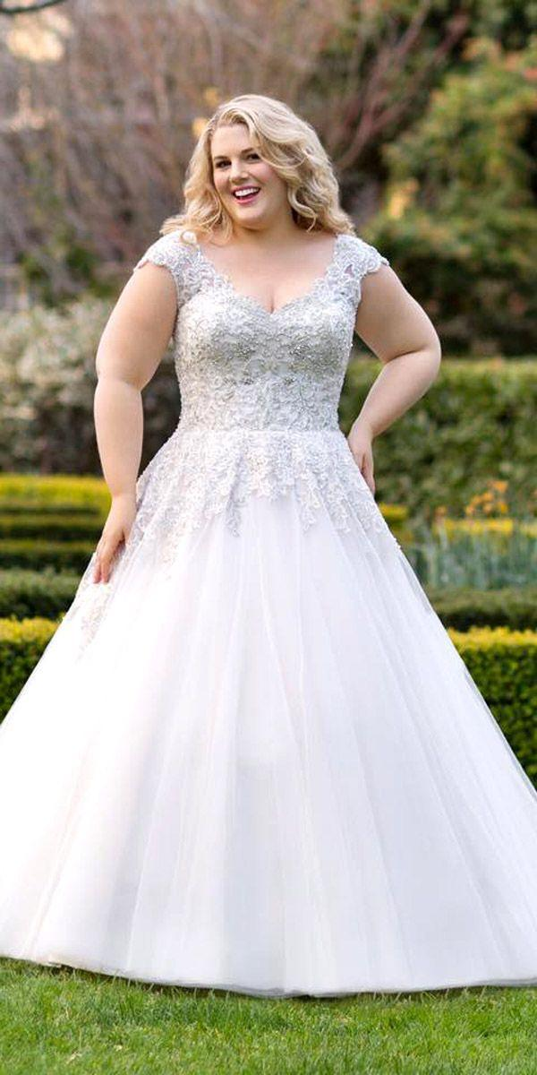 24 Plus Size Wedding Dresses A Jaw Dropping Guide 2630366