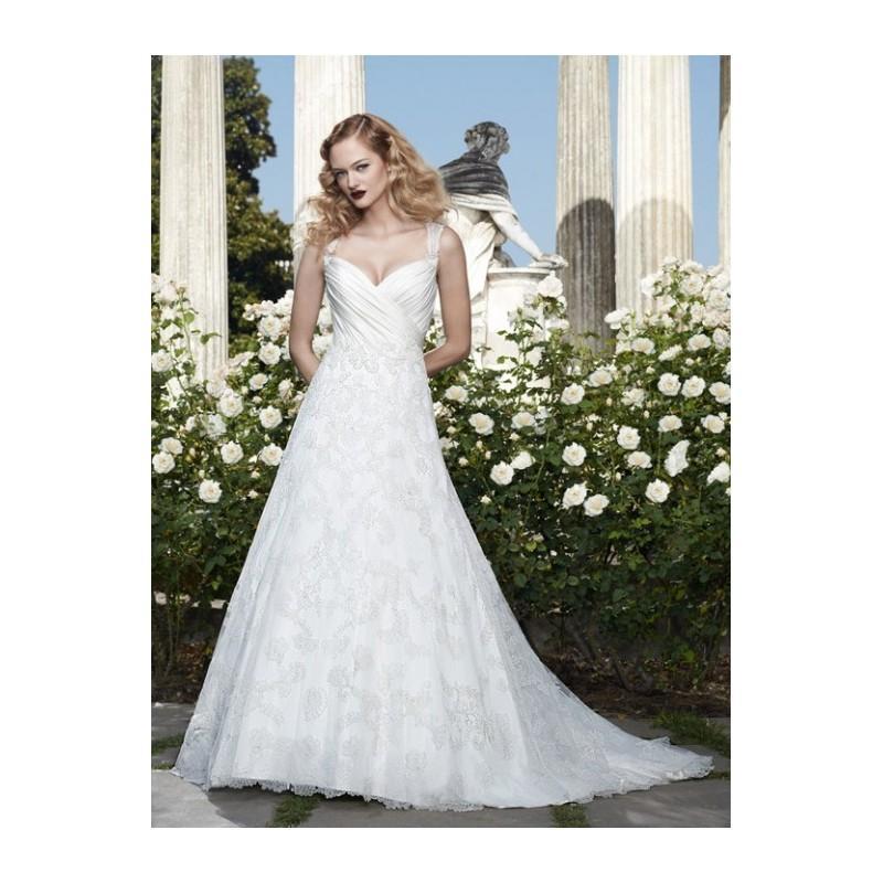 Boda - Casablanca Bridal 2067 A-Line Lace Wedding Dress - Crazy Sale Bridal Dresses