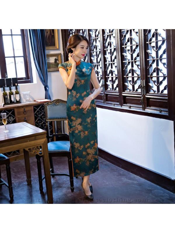 Mariage - 2017 Autumn Long Cheongsam/Qipao New Style Vintage Daily Cheongsam/Qipao Modified Cheongsam/Qipao One-piece Dress Wholesale - Cntraditionalchineseclothing.com