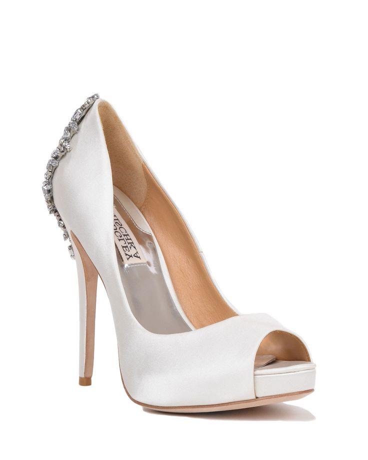 Wedding - Badgley Mischka Kiara Platform Evening Pumps