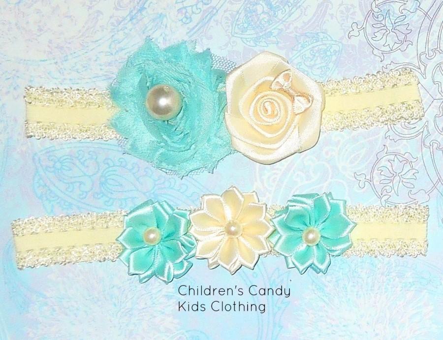 Hochzeit - Mint Wedding Garter,Ivory Wedding Garter,Wedding Garters,Bridal Garter,Bridal Garter Set,Garter Set,Mint Wedding Garter, Lace Garter