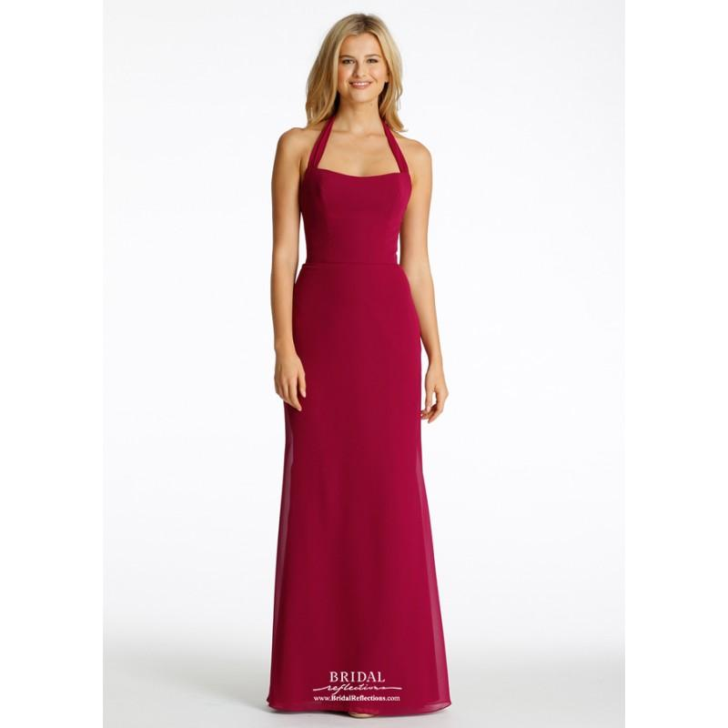 Wedding - JH5610 - Burgundy Evening Dresses