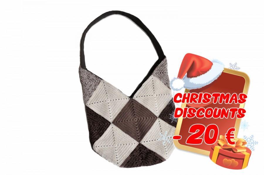 Свадьба - Handbag, shoulderbag, summer bag, knitting bag
