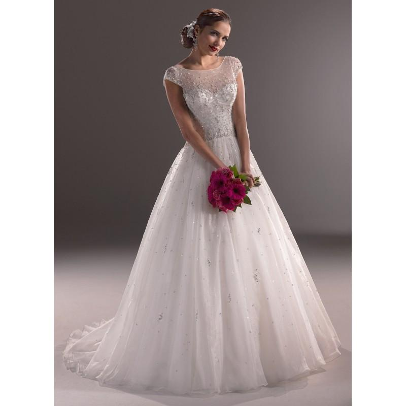 Hochzeit - Maggie Sottero Wedding Dresses - Style Tasha Marie 3MW780MC - Formal Day Dresses
