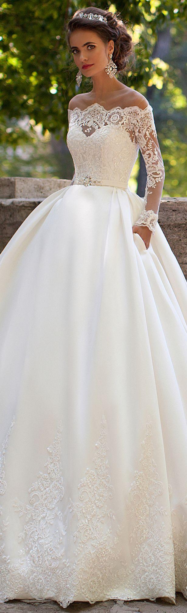 Hochzeit - Milla Nova 2016 Bridal Collection - Dominica