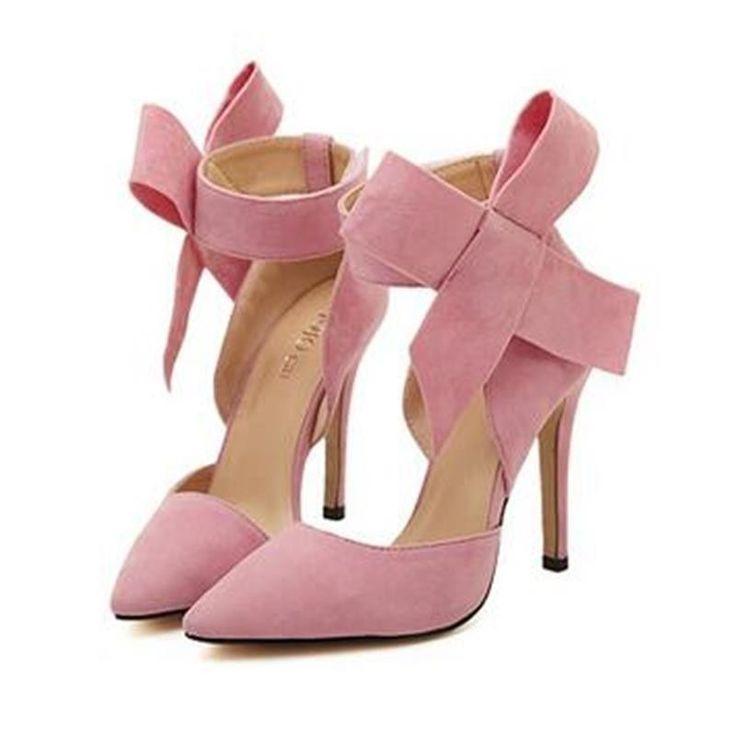 Wedding - Plus Size Shoes Women Big Bow