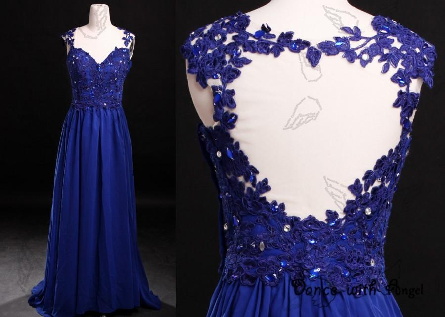 Düğün - Royal blue lace back straps prom dresses,prom dress,long prom dress,bridesmaid dresses,evening dresses,bridesmaid dress,evening dress