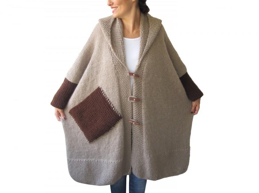 Mohair mantel beige