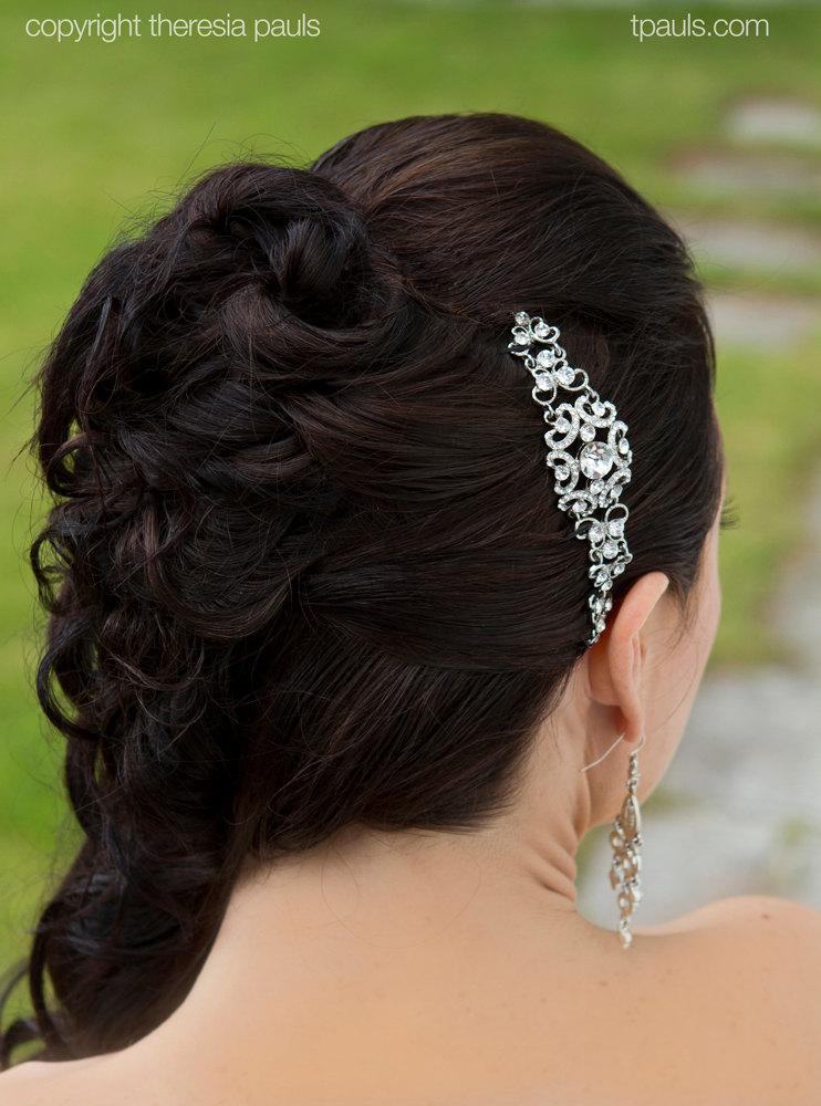 Mariage - Wedding hair accessories bridal headband bridal tiara bridal hair jewelry wedding headband wedding hairpiece wedding tiara wedding crown
