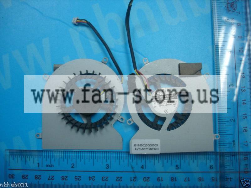 Mariage - NEW Gateway W350A M-6762 M-6822 Series CPU FAN