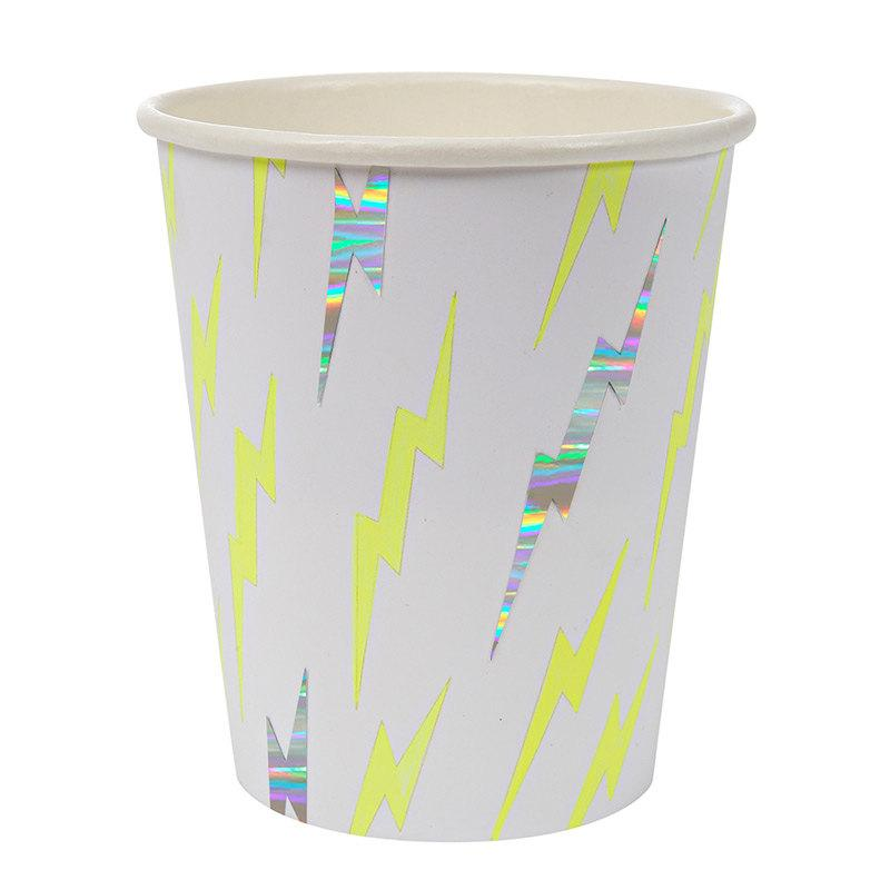 Wedding - Neon Paper Cups / ice cream party / neon cups /  super hero/ candy cups / meri meri