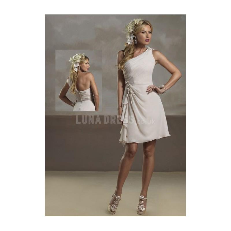 Wedding - Perfect Summer A line One Shoulder Chiffon Bridesmaid Dress - Compelling Wedding Dresses