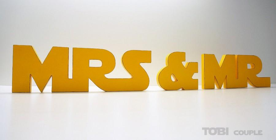 Star Wars Mr And Mrs Wedding Sign Wooden Letters Table Decor Gift
