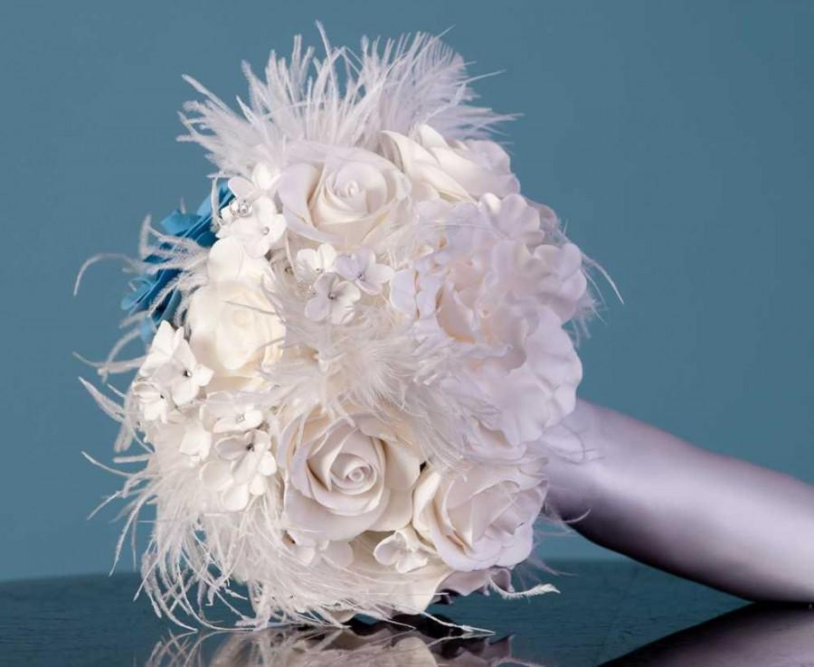 Wedding - Clay Flower Bouquet - Clay Bouquet - Custom Clay Bouquet - Custom Wedding Bouquet - Alternative Wedding Bouquet - Floral Bouquet - DEPOSIT