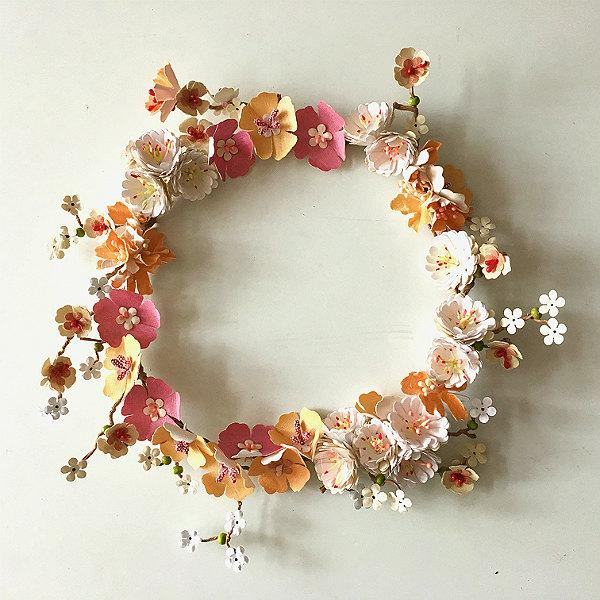 Mariage - Flower wreath, Table decoration, Door decoration, New home gift, Easter wreath, Wedding wreath