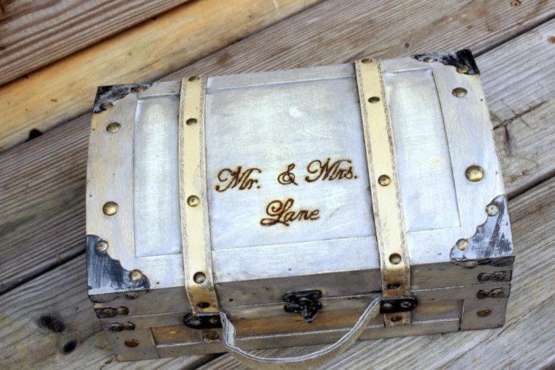 LARGE Wedding Card Box Trunk Wine Love Letter First Fight Box – Large Wedding Card Box