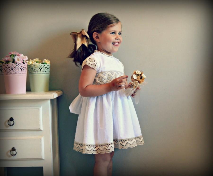 Свадьба - LUNA (1T to 6Y+).Flower Dress.Gown.Plumeti,bobbin lace.Custom your OWN outfit.Baptism.Heirloom.Easter.Wedding.Communion.Birthday.Tea party.