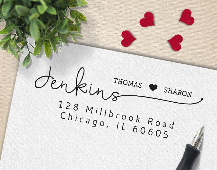 custom stamp personalized return address stamp custom rubber