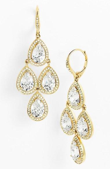 b0e56f06f Women's Nadri Cubic Zirconia Chandelier Earrings (Nordstrom Exclusive)