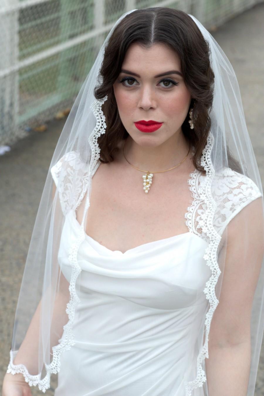 Mariage - Gentle Lace Wedding Veil