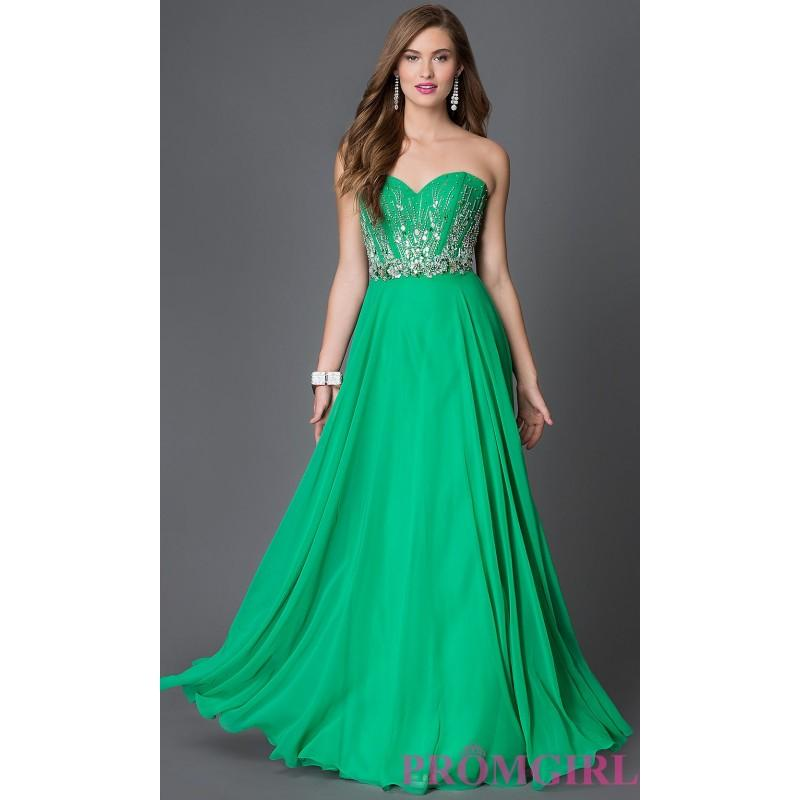 Mariage - Jewel Accented Bodice Xcite Strapless Sweetheart Prom Dress - Discount Evening Dresses
