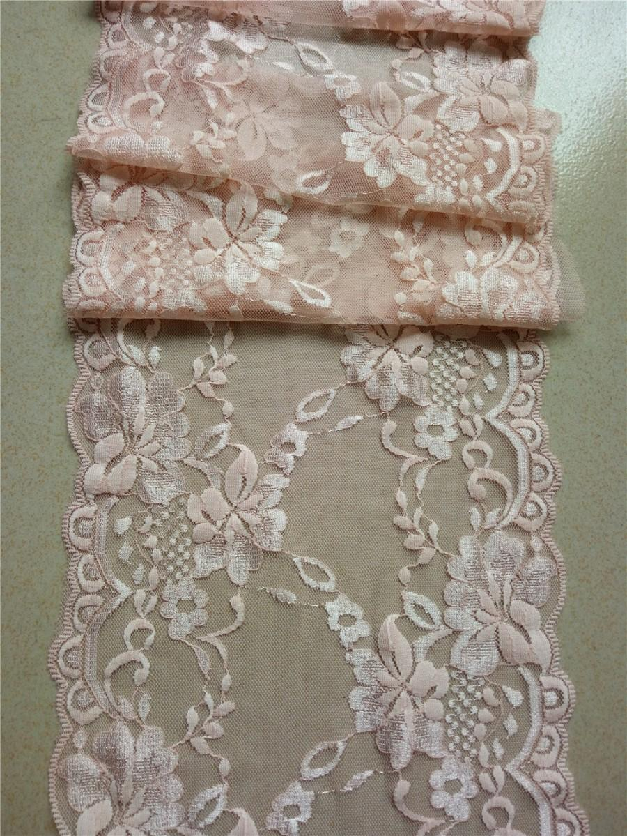 Blush Pink Lace Runner 8 Quot Wedding Table Runner Lace