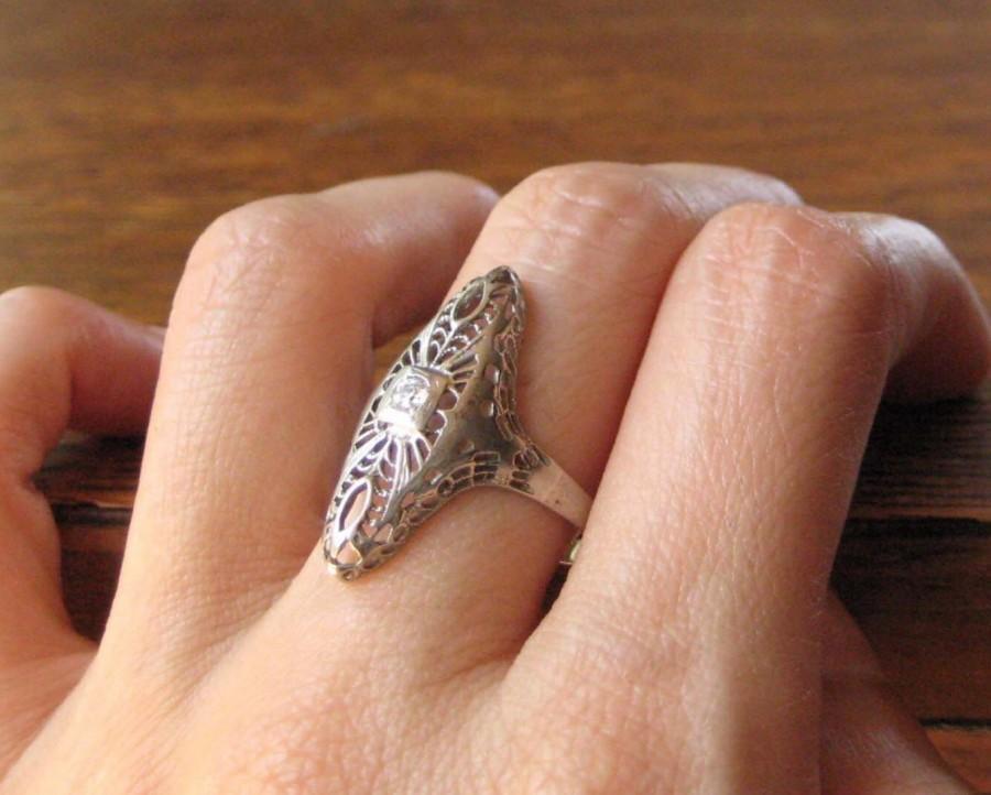 Hochzeit - Antique Victorian Ring