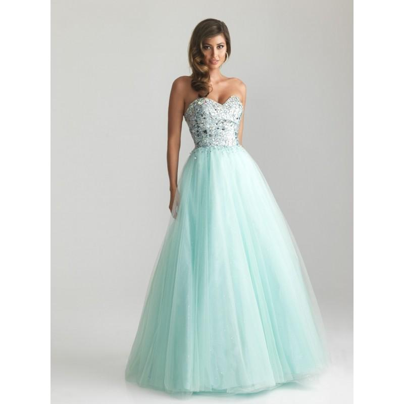 Boda - Night Moves 6669 Tulle Ball Gown Prom Dress - Crazy Sale Bridal Dresses
