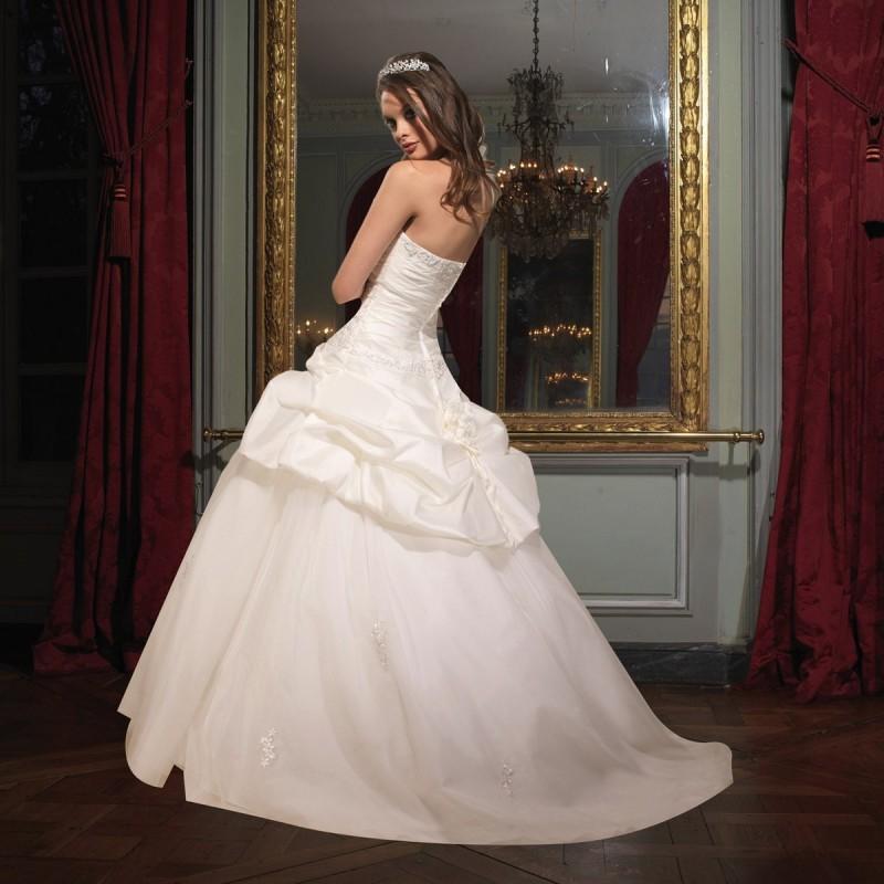 Wedding - Tomy Mariage, Charlotte ivoire et silver - Superbes robes de mariée pas cher