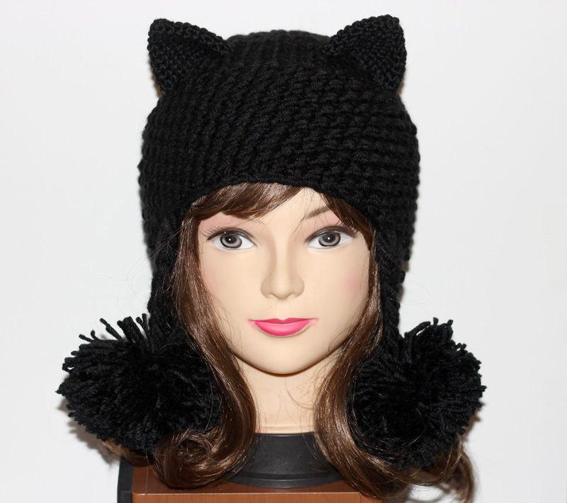 Crochet Cat Ears Hat 1a1b994d09c
