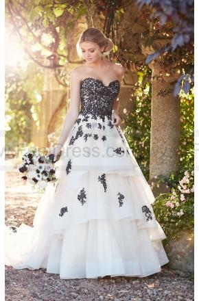 Mariage - Essense of Australia Princess Wedding Dress With Lace And Tulle Skirt Style D2275