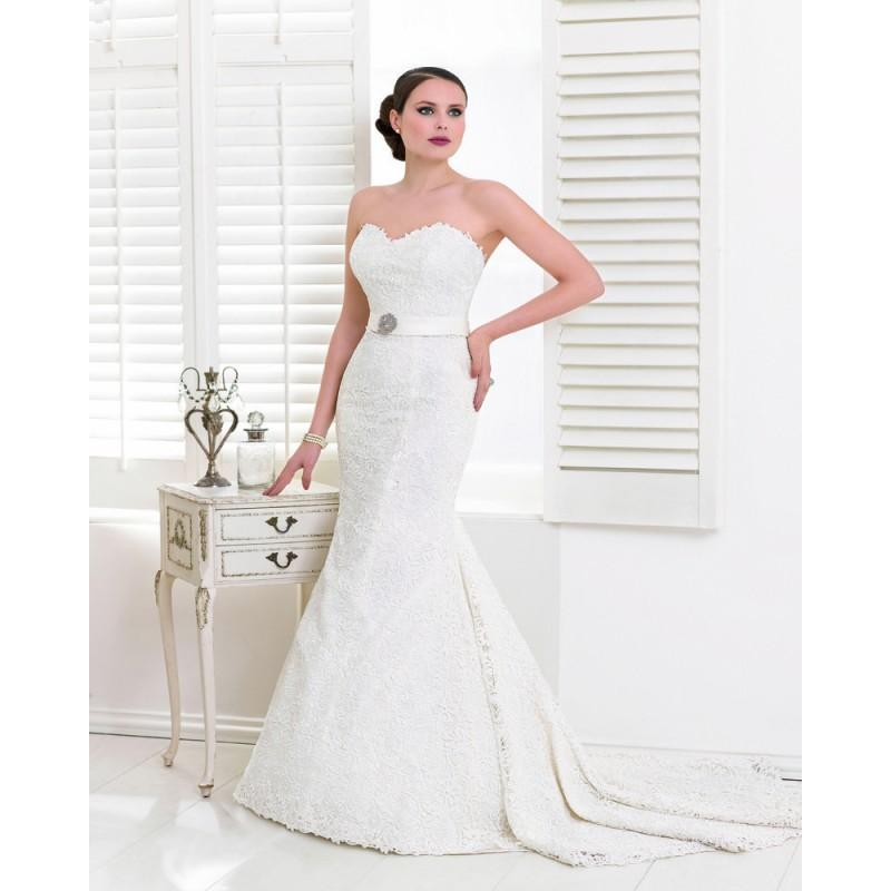 Wedding - Sexy Trumpet/Mermaid Sweetheart Beading Lace Sweep/Brush Train Wedding Dresses - Dressesular.com